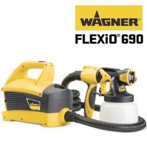 Краскопульт электрический Wagner W 690 Flexio